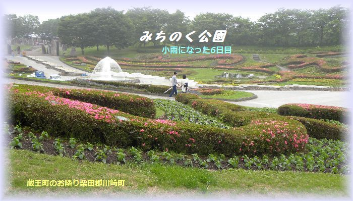 みちのく公園庭園の一部
