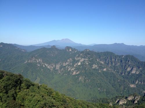 妙義と浅間山(2)