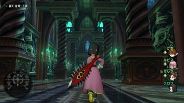 クロフ、魔幻宮殿へ