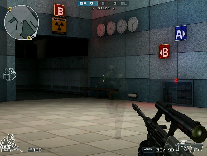 FPS オンラインゲーム 『クロスファイア』