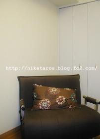 たんす処分後のソファベッド