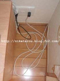 テレビケーブル収納1