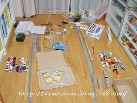 子供部屋床2013年9月