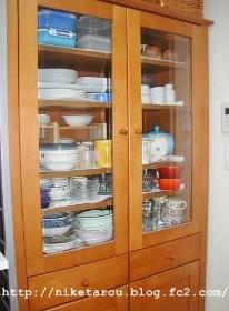 食器棚2013年10月