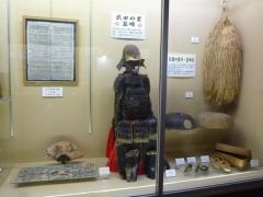 武田の里と韮崎宿展示コーナー