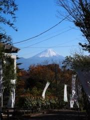 11月27日の富士山