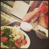 鴨と香味野菜サラダ