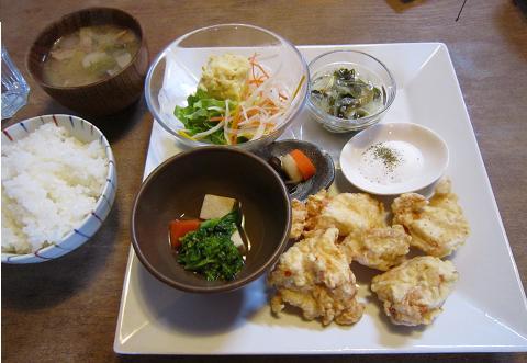 とりさんの天ぷら定食