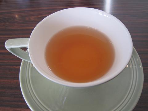 食前のお紅茶