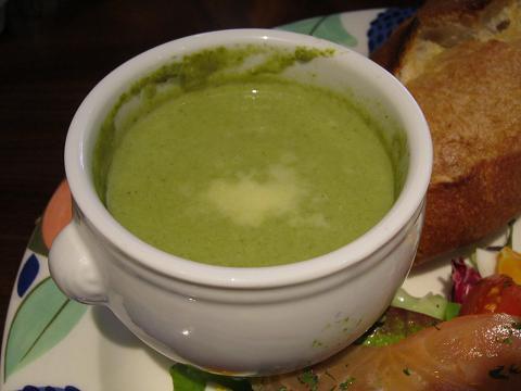 スープ(緑)