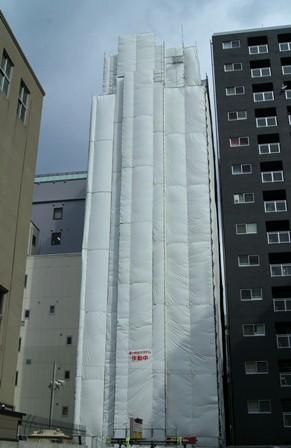 大阪市中央区Yビル大規模修繕工事