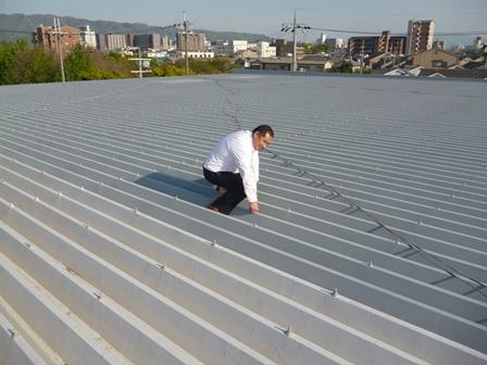 折半屋根カバー工法