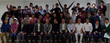 OB会集合写真 2014年11月8日(土)
