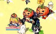 かぼちゃ3きょうだい