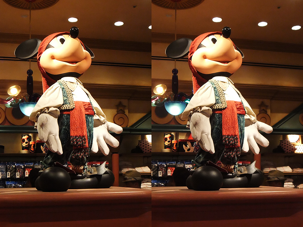 3Dミッキー(フィガロズ・クロージアー)
