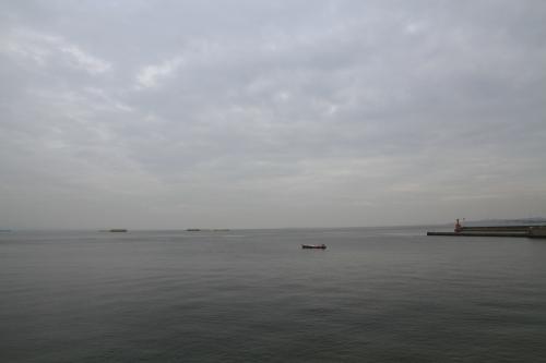 海を眺めて