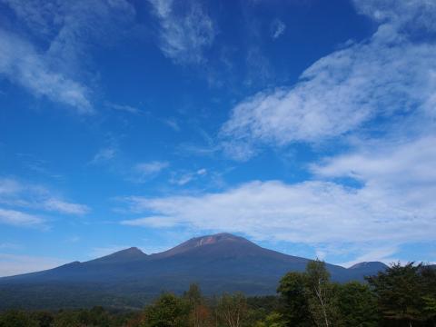 浅間山130930