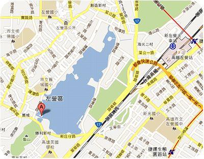 龍虎塔地図