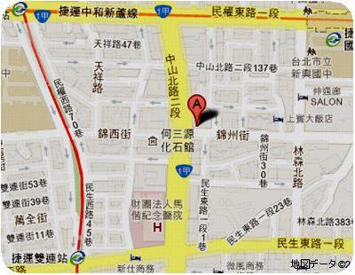 TaipeiEYE地図