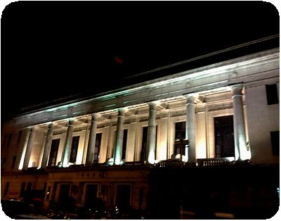 夜景台湾銀行