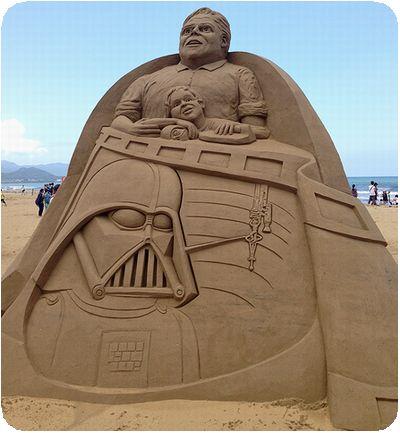 福隆国際砂彫ダースベーダー