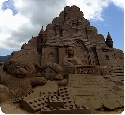 福隆国際砂彫バービー