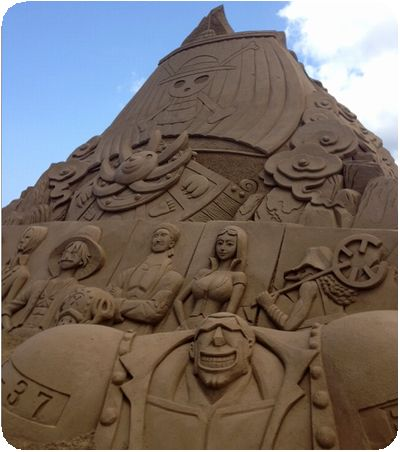 福隆国際砂彫ワンピース右