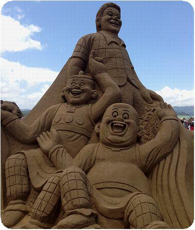 福隆国際砂彫外人