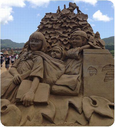 福隆国際砂彫彫り
