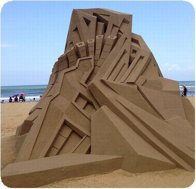 福隆国際砂彫直線
