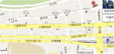 饒河街夜市地図