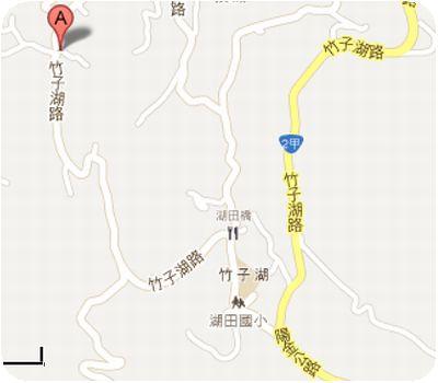 竹子湖苗榜地図
