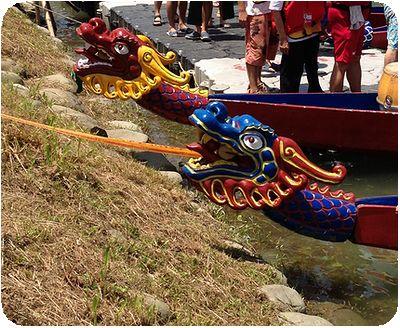 ドラゴンボートボート龍