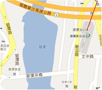 ドラゴンボートボート地図
