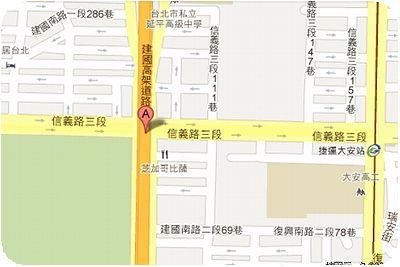 建國假日花市地図