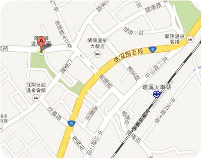 温圍溝温泉公園地図
