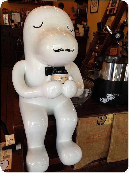 cama現烘咖啡專門店キャラ
