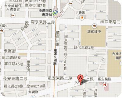 cama現烘咖啡專門店地図