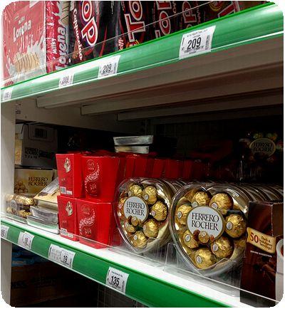 RJ supermartチョコ