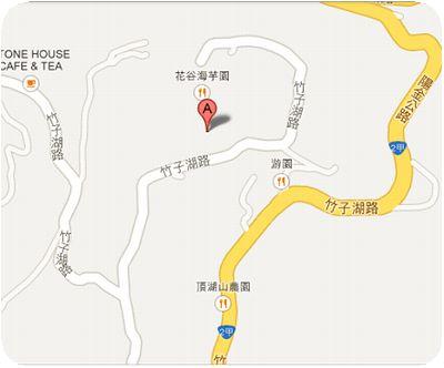 頂湖小鎮地図