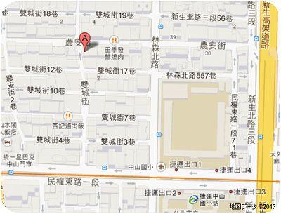 Mr.Lin地図