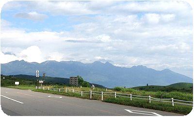 霧ヶ峰八ヶ岳