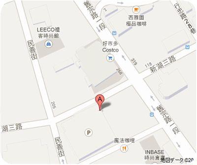 台南蚵仔煎地図