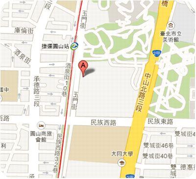 太老爺小酒館地図