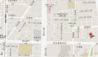 凰鶯越南餐館地図
