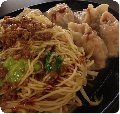 海鮮麺疙瘩麺