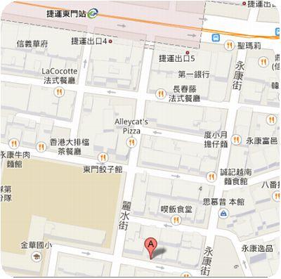 Rice Cafe地図