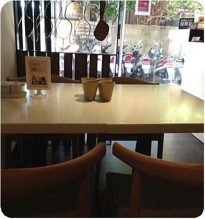 Rice Cafe店内