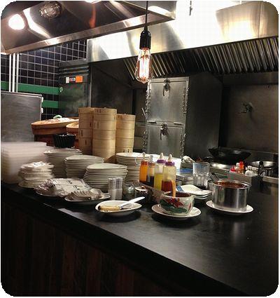 青葉新樂園オープンキッチン
