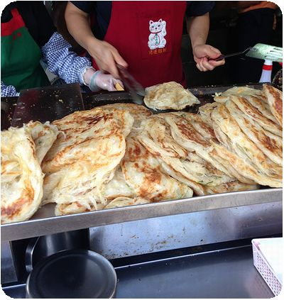 天津葱抓餅調理